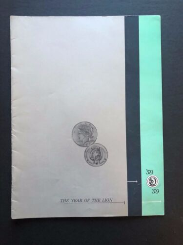 """1958/59 MGM Movie Line-Up Pressbook (30 Movies) - 12 Pages - 9"""" x 12"""" EX+"""
