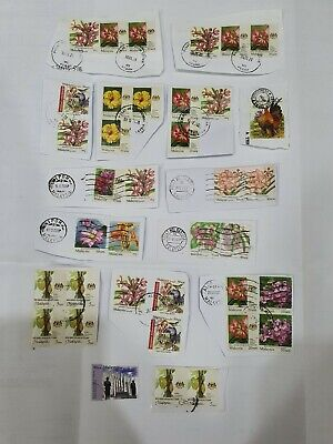 Malaysia Used Stamp Mainly Garden Flowers National & State Definitive