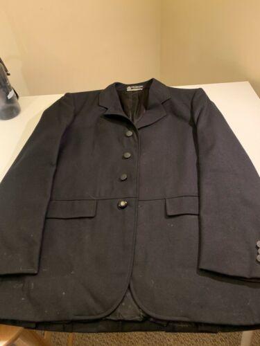 Equestrian English Show Jacket Jacket Black Size 40