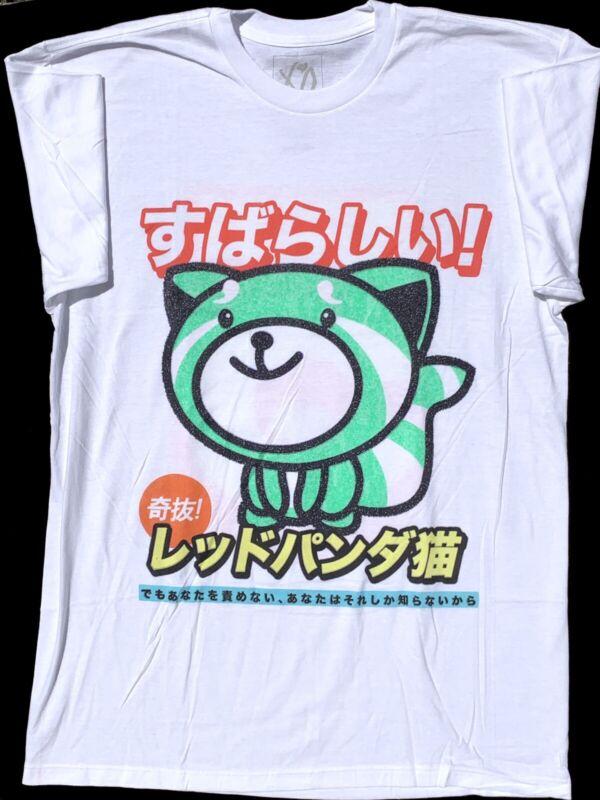 NEW The Weeknd KissLand 5 Super Fantastic White Tee XO 2Sided Shirt Japanese L