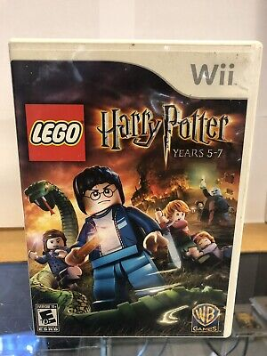 LEGO Harry Potter: Years 5-7 (Nintendo Wii) Complete | Very Good Condition