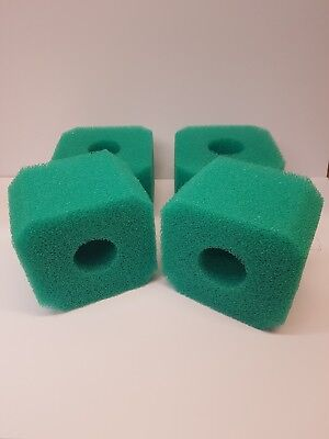 4 Pack Fits  Intex pure spa Hot Tub Filter S1 Type  Washable  Foam sponge