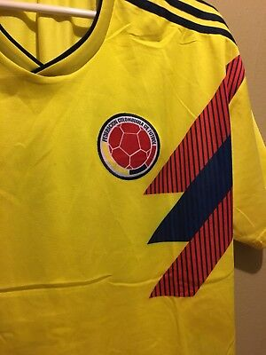 bc59df0ab36 New Colombia Nacional Mens Team Soccer Futbol Jersey Size Med National No  Tags