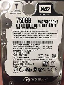 """750GB 2.5"""" HDD SATA III 6.0Gb/s"""