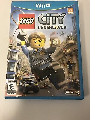 LEGO City Undercover (Nintendo Wii U, 2013) Complete, Barely Used