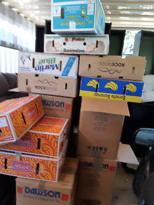 Moving packing boxes