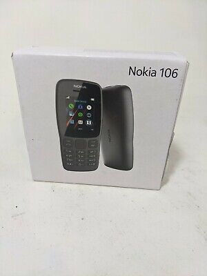 Nokia 106 Single Sim TA-1190 Dual-Band Factory GSM Unlocked Phone International
