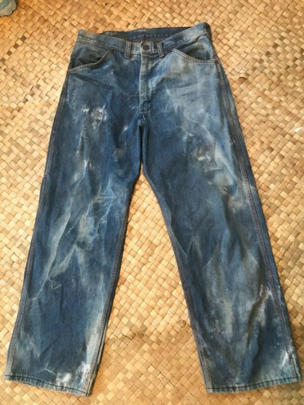 50s/60s Vintage Big Mac Carpenters Jeans Vintage Workwear 30x28