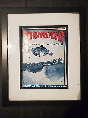 Vintage Skateboard Thrasher Magazine July 1982