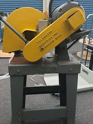 Kalamazoo 10 Abrasive Cut-off Saw With Steel Stand 3 Phase