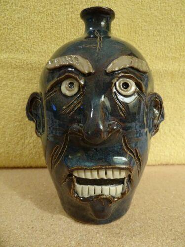 Ryan McKay Pottery Face Jug, Seagrove, NC