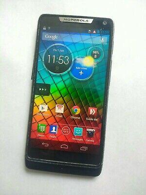 Motorola RAZR i - 8GB - Black (Orange) Smartphone