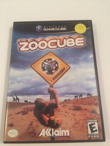 ZooCube (Nintendo GameCube, 2002)Free USA Shipping