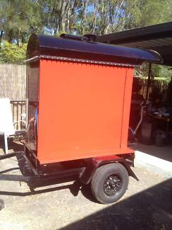 GAS FIRED MOBILE POTATO OVEN StrikingRed&Black-FullyReconditioned Tallai Gold Coast City Preview