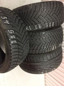 x4 Runflat Winter Tires 225/45/17