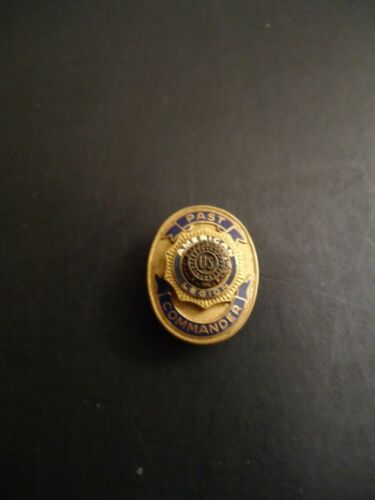 "Vintage American Legion ""Past Commander"" 10K- GF Lapel Pin"