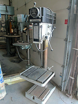 20 Msc Industrial Drill Press Model 508vs-20 With T-slotted Table Base