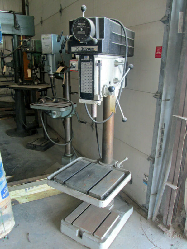 """20"""" MSC Industrial Drill Press Model 508VS-20 with T-slotted table & base"""