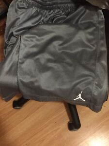Lightly worn authentic with tags Jordan basketball shorts