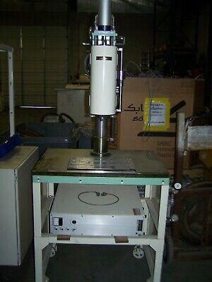 Sedeco Ultrasonic Plastic Welding Tower W Sonopet 2100b Power Source