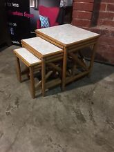 Bamboo nest of tables Penrith Penrith Area Preview