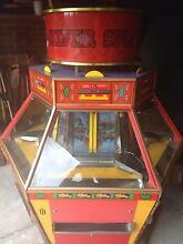 6 player coin pusher machine amusement  arcade pinball 20c Atwell Cockburn Area Preview