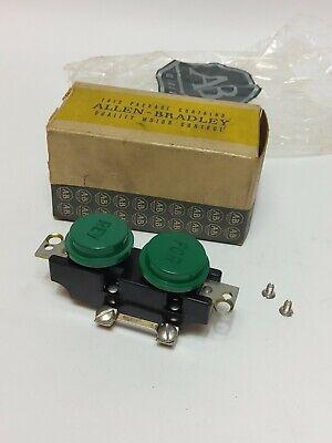 Vintage Allen Bradley Forward Reverse Push-button Nos