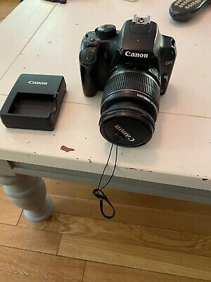 Canon EOS Rebel XS 10.1MP Digital SLR Camera Kit EF-S 18-55mm IS Lens Fast Ship