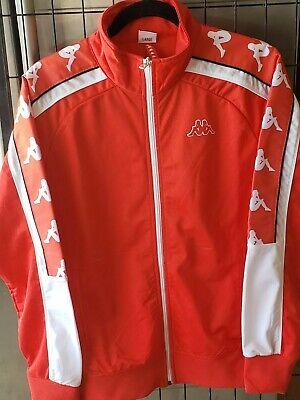 Red Kappa Track Jacket L