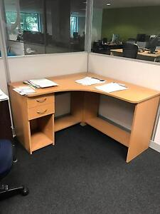 Corner office desk with drawers - Pick up in Southbank Southbank Melbourne City Preview