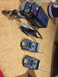 S.W.A.T. Playset vehicles