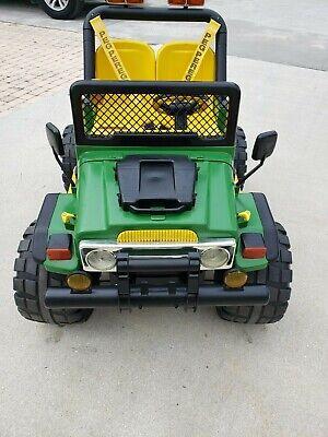 Peg Perego Gaucho John Deere Off Road Jeep 4 x 4 - SPECIAL EDITION