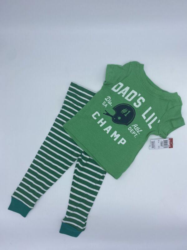 Joe Boxer Toddler Boys Pajama Pants & T-shirt Sleepwear Size 18 Months 100% Cott