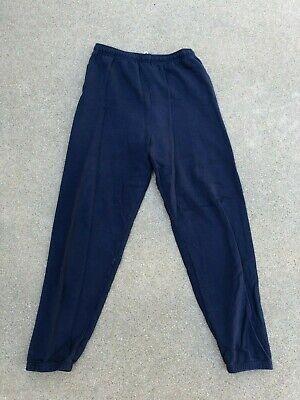 Fruit of the Loom Men's Vintage 90s Best Navy Sweatpants | Large (Best Fruit Of The Loom Mens Sweatpants)