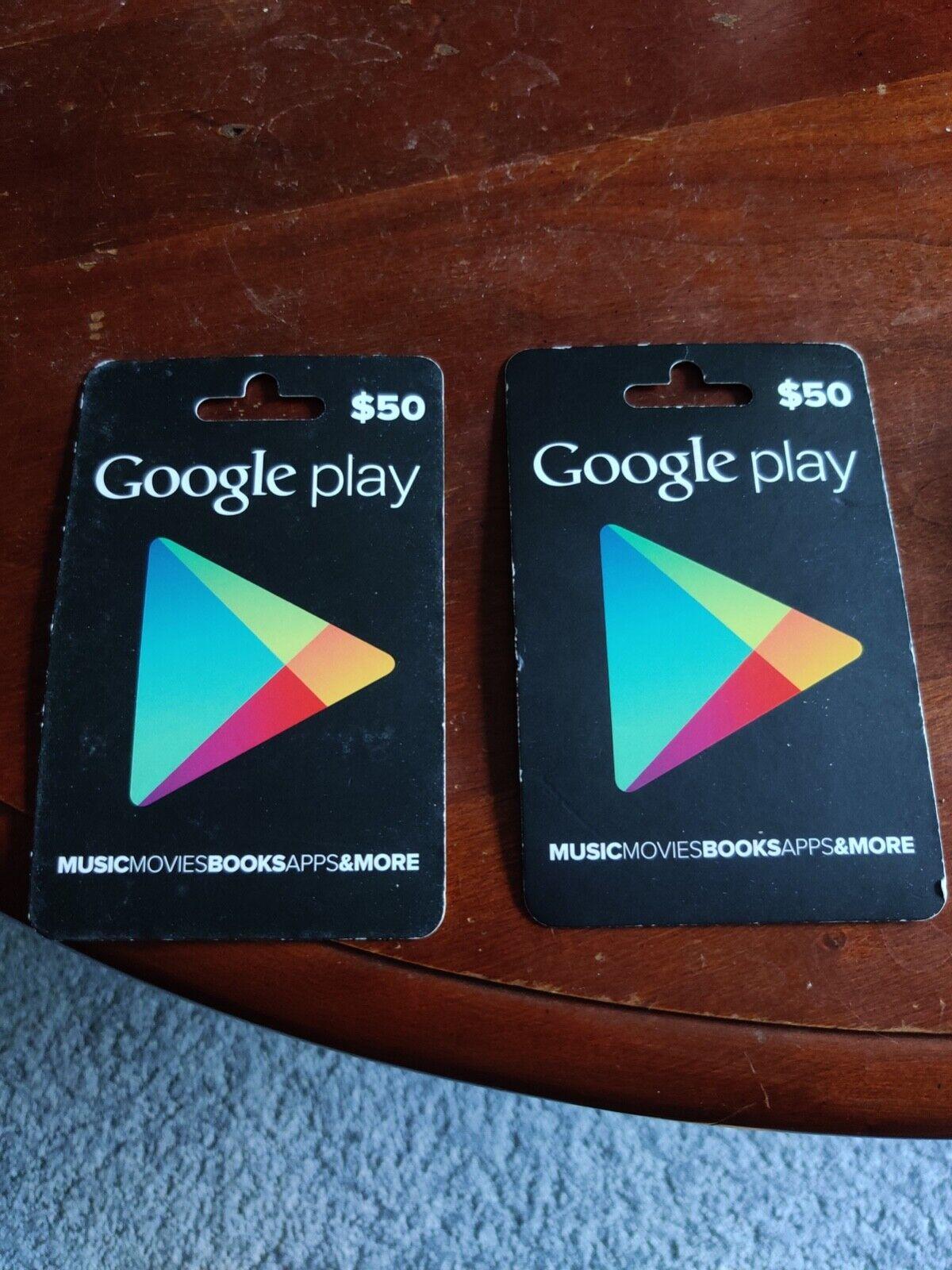 Google Play 100 USD Gift Card - $94.00