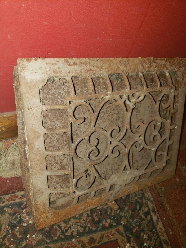 Antique Grate Single Louver 9x11 Heating Vent