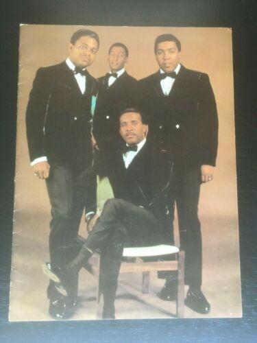 Original THE FOUR TOPS Reach Out 1967 Tour PROGRAM Great Condition