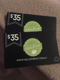 2X $35 Hellofresh.com.au giftcards Maxwelton Central West Area Preview