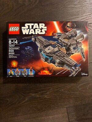 LEGO Star Wars STARSCAVENGER Building Set #75147 Retired (Brand New)