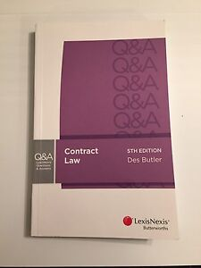 LexisNexis Contract Law Q&A STUDY GUIDE Randwick Eastern Suburbs Preview