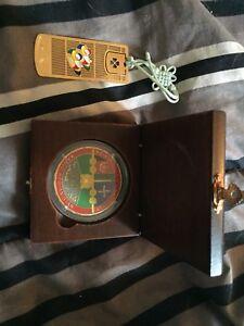 Médaille de guerre et signet doré