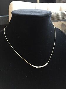 Chain with cubic zirconia for sale