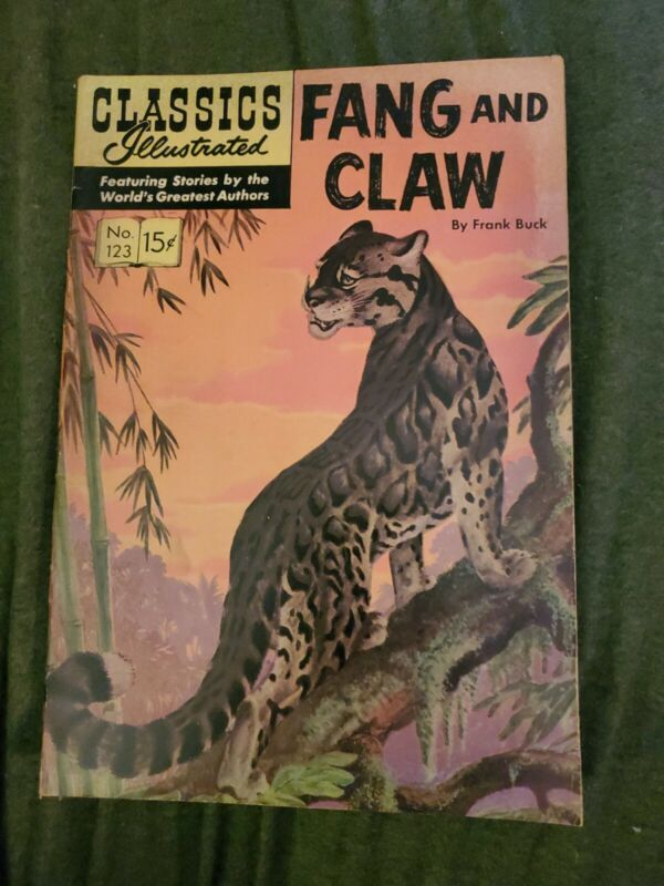 Classics Illustrated #123 Fang and Claw