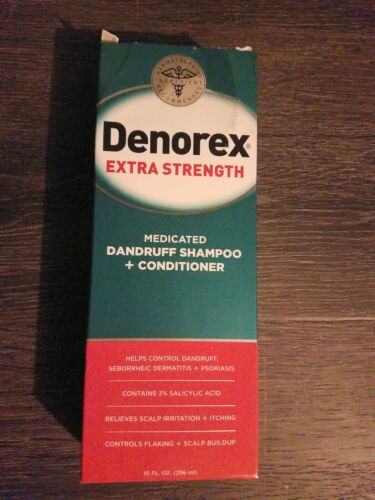 Denorex Extra Strength Dandruff Shampoo and Conditioner, 10