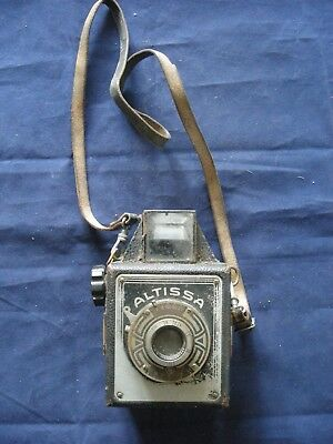 Vintage Altissa Box camera - untested - sold as spares or repair
