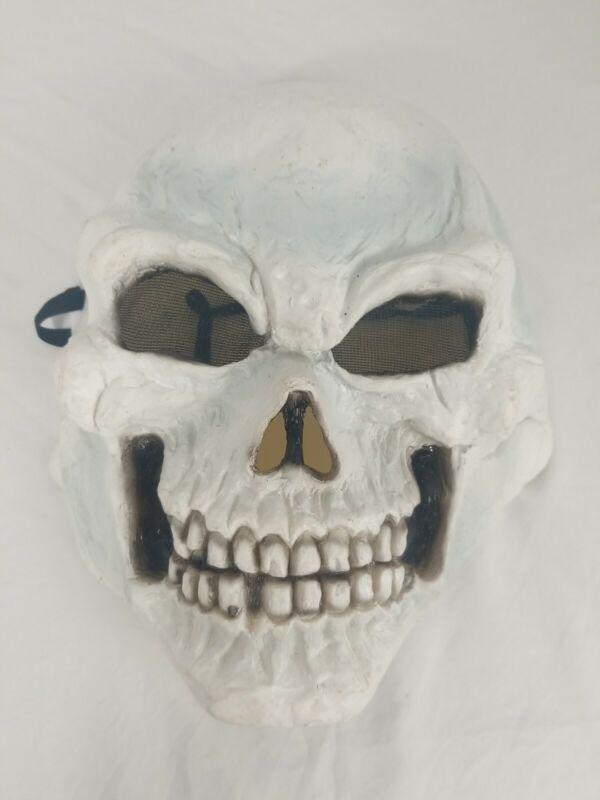 VTG Easter Unlimited Skull Face Mask Halloween Mask Rounded Letters