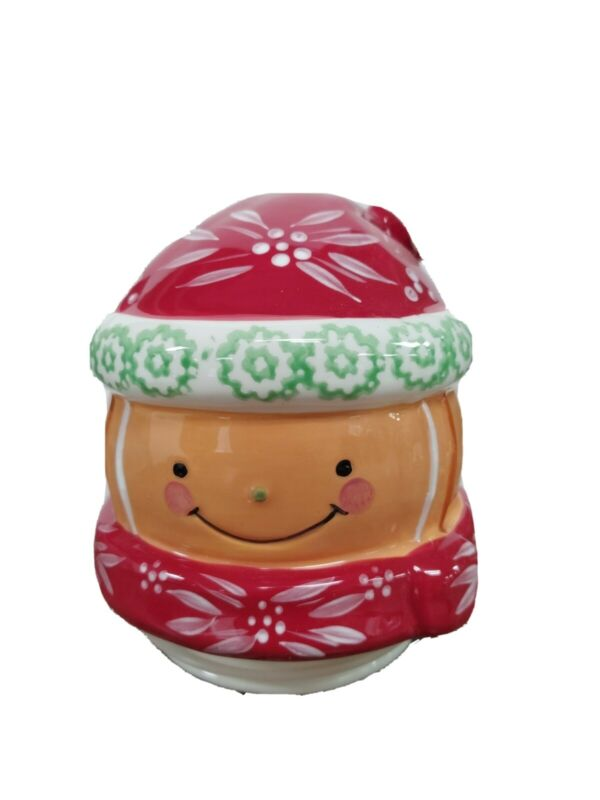 Temptations bakeware Gingerbread Cookie Jar HEAD ONLY Replacement