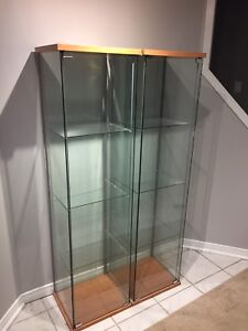 IKEA display cabinets