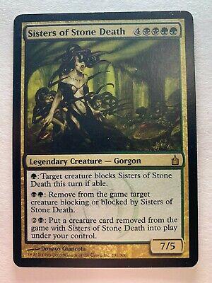 Sisters of Stone Death Legendary Creature - Gorgon Magic The Gathering Ravnica