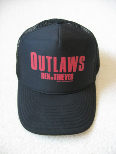 """DEN OF THIEVES"" Movie Adult Unisex Adjustable Baseball Cap ""Outlaws"" - Black"